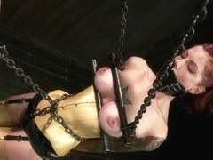 Water play special Tricia Oaks loves asphyxiation we oblige