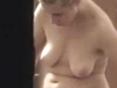Crazy Amateur video with Blonde, Solo scenes