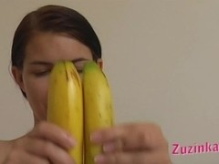 Banana insertion show and tell