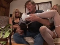 Dissolute mother I'd like to fuck's Give Great Footjob