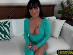 Asian milf Mahina Zaltana dresses up in a sexy police outfit and is doggystyled