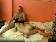Fucking her in a miss position