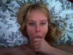 Horny amateur record with big dick, wife, blowjob, pov, couple scenes