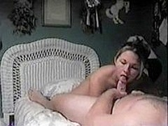 Sucking and Fucking on their young girl's bed