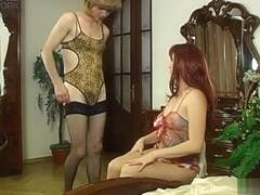 StraponSissies Clip: Rita and Maurice B
