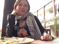 Mature Asian chick is hot for a horny guy