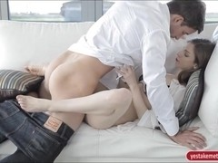 Stunning babe Stella Cox twat screwed up