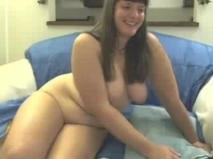 Shaking my big butt and masturbating