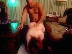 Screwing my curvy wife doggystyle