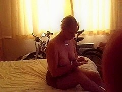 Sexy Liz Witherall Seduces Her Younger Lover & Makes Him Cum Hard