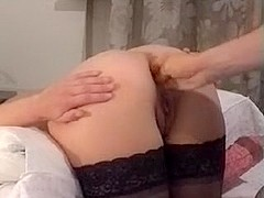 aldonze bitch c double anal fist