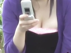Asian babe wants revenge after getting a boob sharking.