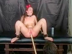 BDSM young Snow WHite