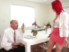 Siri & Will Powers in Naughty Office