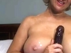 Solo #17 (Hawt Blond Granny Toying Around!)