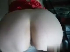 A naughty bitch sent me her homemade big booty video, in which she is posing seductively, showing .