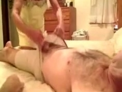 Granny oral job sex and fuck