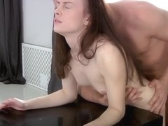 POLINA PARTS WITH HER ANAL CHASTITY