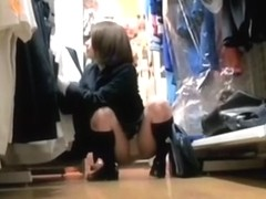Japan teen in high boots sexy white panty up skirt dvd DPMK-09