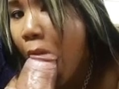 Tiny asian takes huge black cock