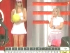 Another great TV show with mini skirts and hot chicks