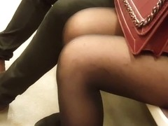 Black pantyhose 1