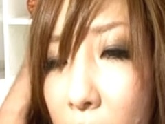 Sexually Excited Japanese Bigtits Akimi Three-Some Fucking