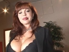 Redhead mother I'd like to fuck can't live without a large hard wang