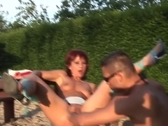Amazing pornstar in hottest swallow, outdoor xxx video