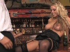 Fabulous pornstars Sylvia Diamond, Veronica Sanchez and Sabina Blue in incredible big tits, blonde.