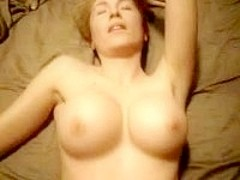 Wife with fake tits pounded