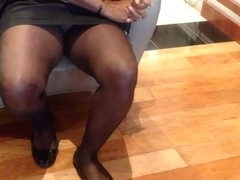 wife flashing pussy at a car dealership