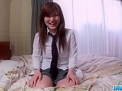 Big tits, Yukina Mori, gets pumped until exhaustion
