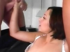 Carmen Sansha Creamed On Face And Pussy