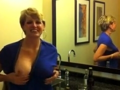 Marvelous and busty milf wife loves a good fuck in the mouth