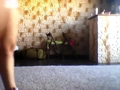 Astounding butt popping livecam constricted clothing movie scene