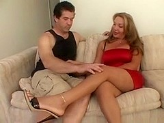 Pretty Transsexual Housewife Gets Fucked By Her Neighbor