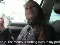Milf gets fucked hard for cash - PublicAgent