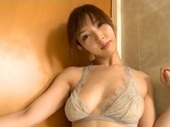 OHTSUKA Mae in the bath