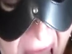 Cumslut swallows a sticky load