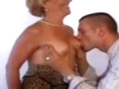 Hot Euro Granny Cougar Pounded Good