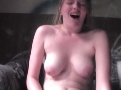 Amateur cutie in sexy lingerie providing with private porn