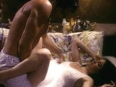 Hotwater orall-service from an 80's porn housewife