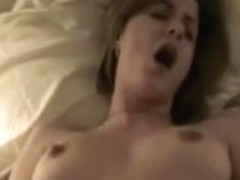gf blows his penis untill this chab discharges his load on her sexy face