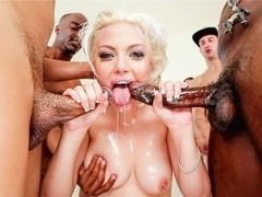 Jenna Ivory & Chris Strokes & Donny Sins & Chris Cock in Wet Food #06 Movie
