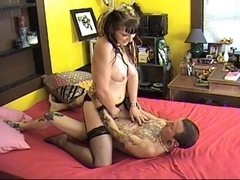 Ruby Blow receives Screwed by Rodger Lodgepole
