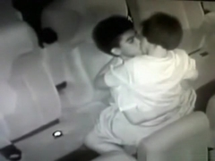 Security guy tapes an asian girl couple having sex in the cinema