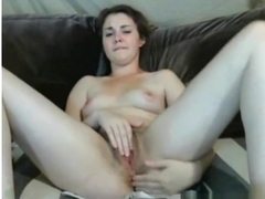 girl pleasures her bf by fingering both her pussy and anal hole