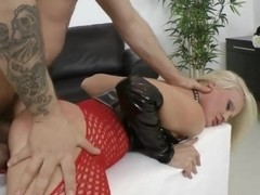 Anal training of Tanya Star.