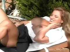 Lusty Blond Whore Needs A Big Dick